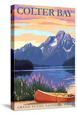 Grand Teton National Park - Colter Bay by Lantern Press
