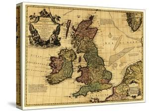 Great Britain - Panoramic Map by Lantern Press