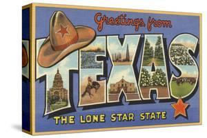 Greetings from Texas by Lantern Press