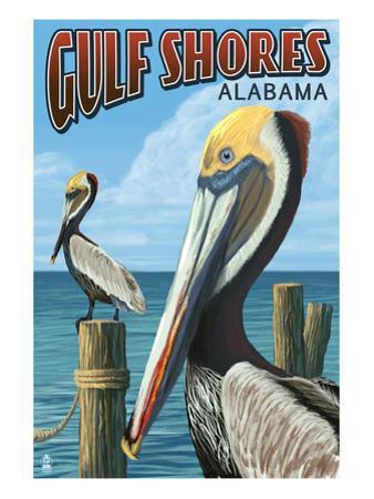 Gulf Shores, Alabama - Brown Pelican