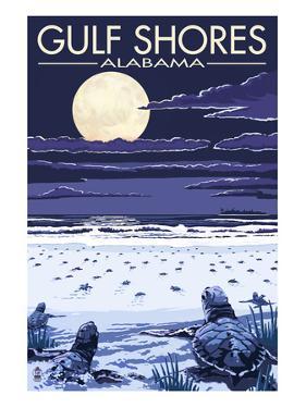 Gulf Shores, Alabama - Sea Turtles by Lantern Press