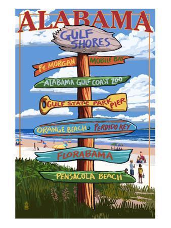 Gulf Shores, Alabama - Sign Destinations