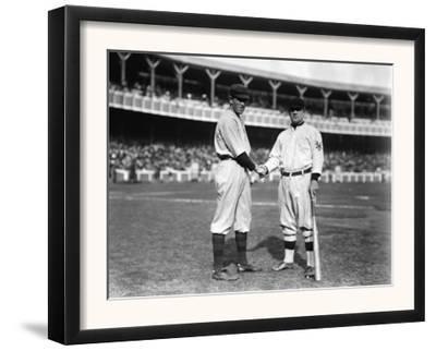 Hal Chase, NY Highlanders, John McGraw, NY Giants, Baseball Photo - New York, NY by Lantern Press