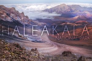 Haleakala National Park - Hawaii by Lantern Press