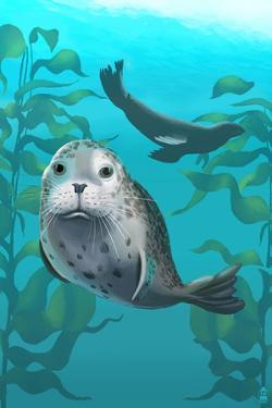 Harbor Seals by Lantern Press