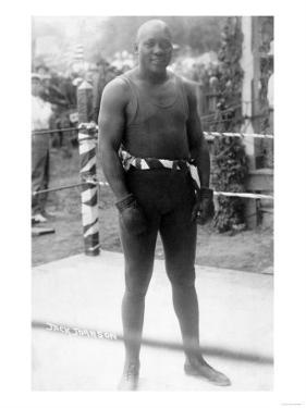Heavyweight Boxing Champion Jack Johnson Photograph by Lantern Press