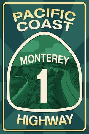 Highway 1, California - Monterey - Pacific Coast Highway Sign