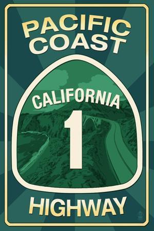 Highway 1, California - Pacific Coast Highway Sign