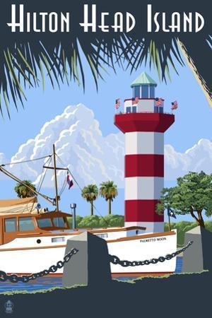 Hilton Head Island, SC - Harbour Town Lighthouse