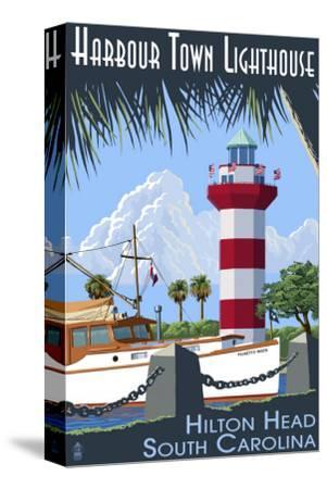 Hilton Head, South Carolina - Harbour Town Lighthouse by Lantern Press