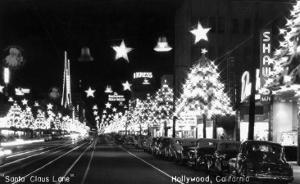 Hollywood, California - Santa Claus Lane Parade on Hollywood Blvd by Lantern Press