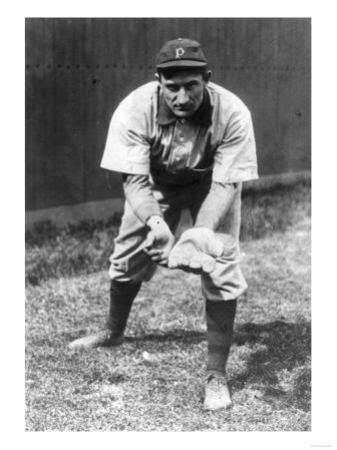 Honus Wagner, Pittsburgh Pirates, Baseball Photo No.2 - Pittsburgh, PA by Lantern Press