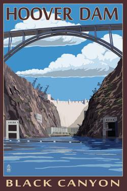 Hoover Dam - Black Canyon by Lantern Press