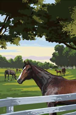 Horse Pasture by Lantern Press