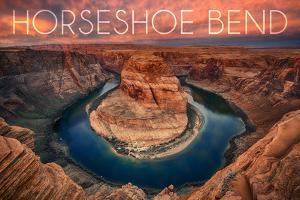 Horseshoe Bend, Arizona by Lantern Press