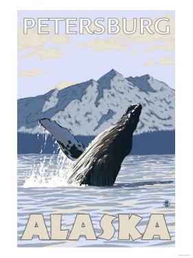Humpback Whale, Petersburg, Alaska by Lantern Press