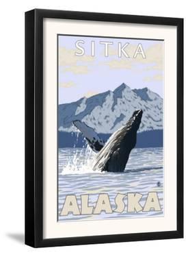 Humpback Whale, Sitka, Alaska by Lantern Press