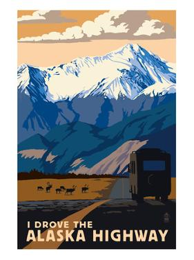 I Drove the Alaska Highway by Lantern Press