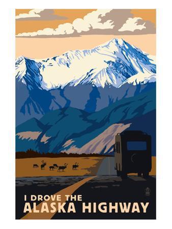 I Drove the Alaska Highway