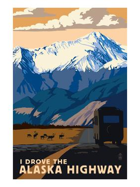 I Drove the Alaska Highway by Lantern Press