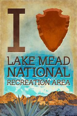 I Heart Lake Mead National Recreation Area by Lantern Press