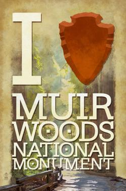 I Heart Muir Woods National Monument by Lantern Press