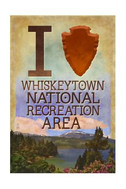 I Heart Whiskeytown National Recreation Area by Lantern Press