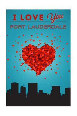 I Love You Fort Lauderdale, Florida by Lantern Press
