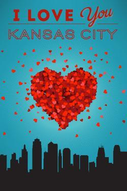 I Love You Kansas City, Kansas by Lantern Press