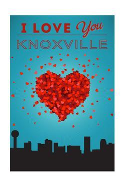 I Love You Knoxville, Tennessee by Lantern Press