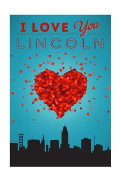 I Love You Lincoln, Nebraska by Lantern Press