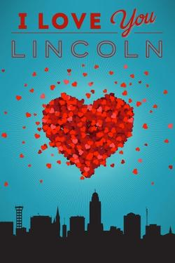 I Love You Lincoln, Nebraska by Lantern Press