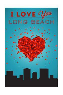 I Love You Long Beach, California by Lantern Press