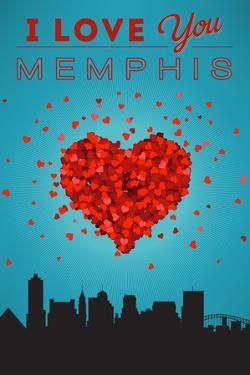 I Love You Memphis, Tennessee by Lantern Press