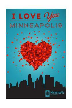 I Love You Minneapolis, Minnesota by Lantern Press