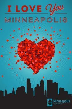 I Love You Minneapolis, Minnesota by Lantern Press