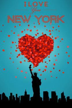 I Love You New York City, NY by Lantern Press