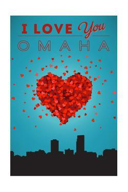 I Love You Omaha, Nebraska by Lantern Press