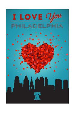 I Love You Philadelphia by Lantern Press
