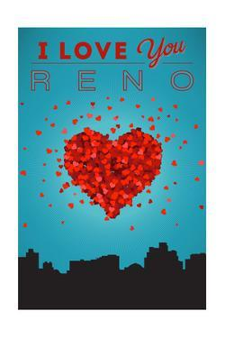 I Love You Reno, Nevada by Lantern Press