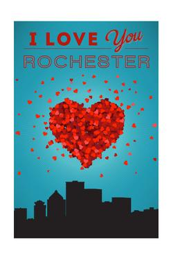 I Love You Rochester, New York by Lantern Press