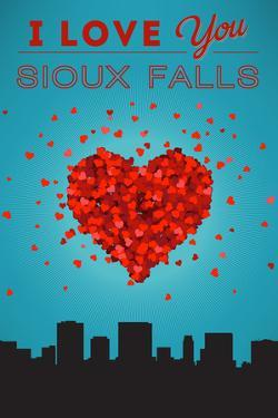 I Love You Sioux Falls, South Dakota by Lantern Press