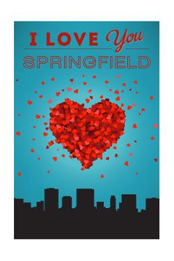 I Love You Springfield, Illinois by Lantern Press