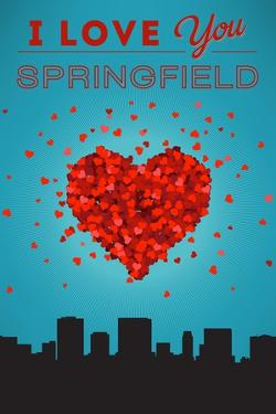 I Love You Springfield, Illinois by Lantern Press