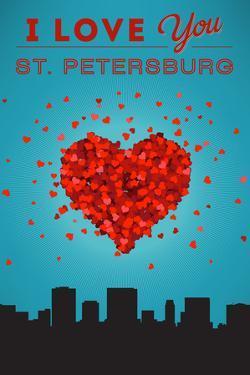 I Love You St. Petersburg, Florida by Lantern Press