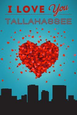 I Love You Tallahassee, Florida by Lantern Press