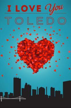 I Love You Toledo, Ohio by Lantern Press