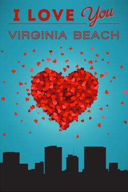 I Love You Virginia Beach, Virginia by Lantern Press