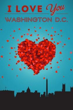 I Love You Washington, DC by Lantern Press