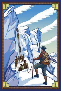 Ice Climbers by Lantern Press